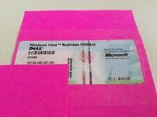 Dell Windows Vista Business Lizenz Key Product Key Englisch English OHNE CD