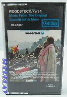 Woodstock Part 1 Music from the original Soundtrack plus More Cassette Tape
