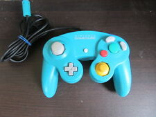 Nintendo GameCube Controller Emerald Blue GC Japan