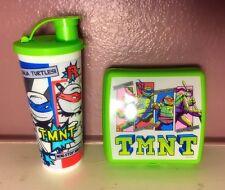 New Tupperware Teenage Mutant Ninja Turtles Sand which Keeper & Tumbler