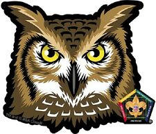 Wood Badge Owl Car Window Sticker