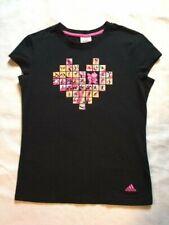 Adidas 2012 London Olympics Cap Sleeve Shirt Black Women's Size M