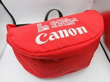 Rare Promo - Canon AE-1 F-1 Camera 1980 Winter Olympic Games Fanny Pack Bag Case