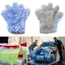 Super Mitt Microfiber Household Car Wash Washing Cleaning Glove Anti Scratch LI