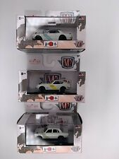 M2 Machines Auto Japan 3 Car Set 1971 Skyline GT-R 1969 Bluebird 1970 Fairlady