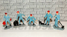 MECHANIC/GAS ATTENDANT SET OF FIVE (5)1:43 (O) Scale DIORAMA NEW NO BOX!