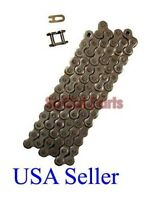 size #420 X 84 link Chain for BAJA DR50, BAJA DR49, DRIVE CHAIN, DIRT RUNNER