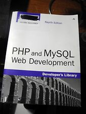 Book PHP and MySQL Web Development 4th Edition by Luke Welling No Disc Included
