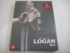 Logan (2017) - KimchiDVD Exclusive Steelbook Fullslip Blu-Ray Region Free | New