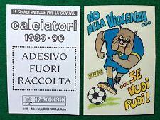 CALCIATORI 1989-90 VERONA - ADESIVO FUORI RACCOLTA Figurina Sticker Panini NEW