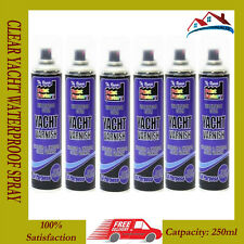 NEW 6 x Clear Yacht Varnish Spray All Purpose Exterior Interior Waterproof 250ML