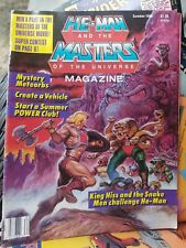 He-Man and the Masters of the Universe Magazine (Summer 1986)