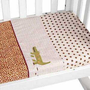 Amani Bebe 3pce Cradle Sheet Set Wild Things