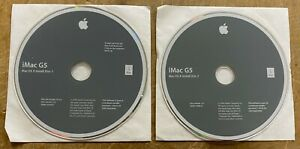 Apple iMac G5 17- and 20-inch Original Software Packet Version 2