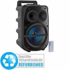 Karaoke Box: Mobile PA-Partyanlage, Bluetooth, MP3, Karaoke (Versandrückläufer)