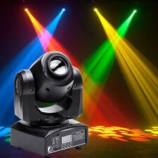 30W LED Spot Moving Head Light RGBW Gobos Stage Lighting DMX DJ Party Disco Show