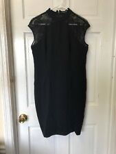 Stylewe Sicily Mini Dress Black Lace Size US 10 NWT