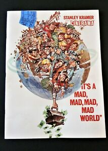 """""""It's a Mad, Mad, Mad, Mad World"""" 1963 Movie Promotional Booklet, & Ticket Stubs"""