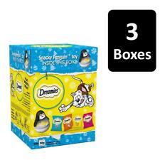3 x 300g Dreamies Cat Treats Christmas Gift Box Xmas Gift (10x30g per box)