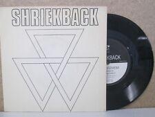"Shriekback-lined up/Hapax legomena 7"" (1983) SINGLE VINILO ex experimento Sintetizador"