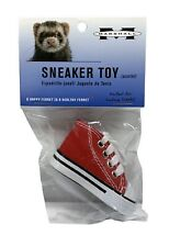 Marshall Pet Ferret Canvas & Rubber Sneaker W/ Laces 3 Inch Toy Small Animal