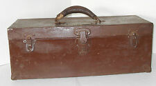 Vintage Damrow Brothers Tool box, Dairy Equipment co. Fond Du Lac, WI  1930's ?