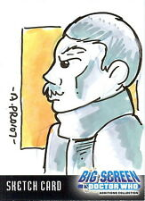 Dr Doctor Who Big Screen Additions Sketch Card by Amy Provonost - The Doctor