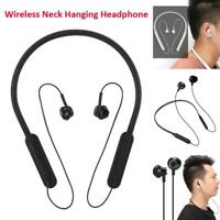 Wireless Bluetooth Headphone Neck Hanging Earphone Bass Stereo Headset Earbuds