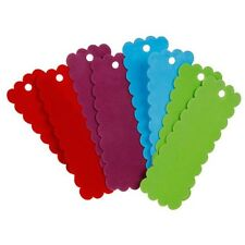 12 pieces Foam Mixed Media Make your own Book Marks 6 inch assorted B47
