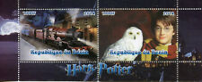 Benin 2014 CTO Harry Potter Hogwarts Express 2v S/S I Trains Rail Owls Stamps