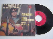 EP 4 TITRES  VINYL 45 T , DONOVAN , TURQUOISE . PYE 24 158 .