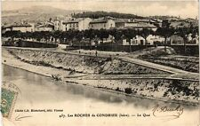 CPA  Les Roches de Condrieu (Isére) - Le Quai  (247236)