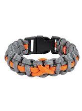 Orange Ribbon Awareness Unisex Bracelet Jewelry MS Leukemia Kidney Cancer CRPS