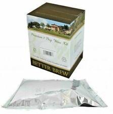 Wine Kit 4.5l Premium 6 Bottles Wine Kit Choice of variance Free Fast P&P UK