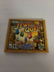 Jewel Quest Rom Game Gem matching adventure PC-CD Rated E Windows Plays 100%