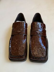 martine rose roxy crocodile loafer Size 42 Brown