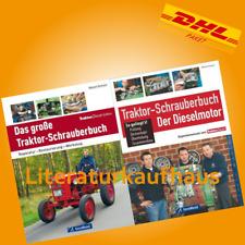 Schoch: Das große Traktor-Schrauberbuch&Der Dieselmotor Reparaturanleitung/Buch