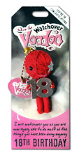 Watchover VooDoo Doll 18th Birthday Key Ring Charm