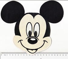 kiTki BIG Disney Mickey mouse head iron-on embroidered patch emblem applique rat