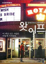 "What If , 2013 MOVIE Mini poster, Daniel Radcliffe , Zoe Kazan , 8.3""x11.7"