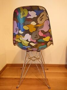 2010 MODERNICA × BAPE CAMO SIDE CHAIR ABC camo Black Japan It is excellent