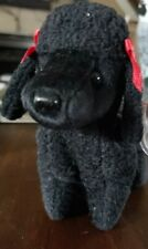 Rare Vintage Gigi The Poodle Beanie Baby -Retired