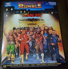 WWE WWF Vintage Royal Rumble 1991 Poster 16x20 Macho Man Randy Savage
