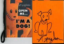 Art Spiegelman SIGNED AUTOGRAPHED Open Me... I'm A Dog HC 1st Ed/1st Print Maus