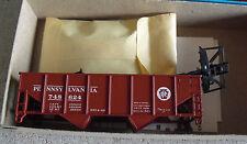 Vintage Ho Scale Athearn Pennsylvania Hopper Car Kit in Box 1335-2