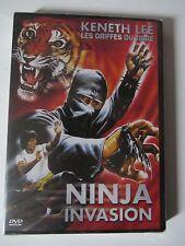 Ninja Invasion de Karl Gallag avec Keneth Lee, DVD, Kung-Fu, NEUF!!!!