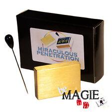 Boîte transpercée - Miraculous Penetration -  tour de magie