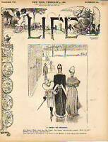 1886 Life February 4-Uncle Sam produces too much silver