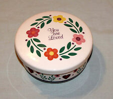 Vintage Trinket Box Dish Christian You Are Loved Graceline Northwestern Products