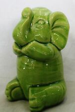 Elephant Statue African Safari Figurine Zoo Wildlife Animal Decorative Ornament